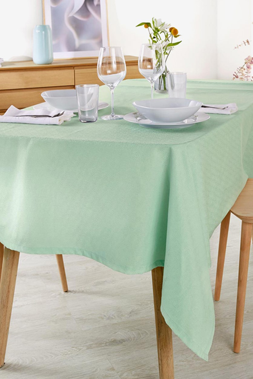 Table Square Cloth, Mint Green