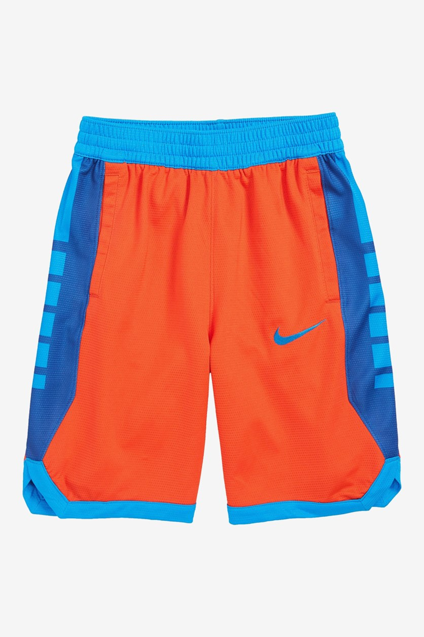 Big Boys Dri-Fit Shorts, Orange Combo