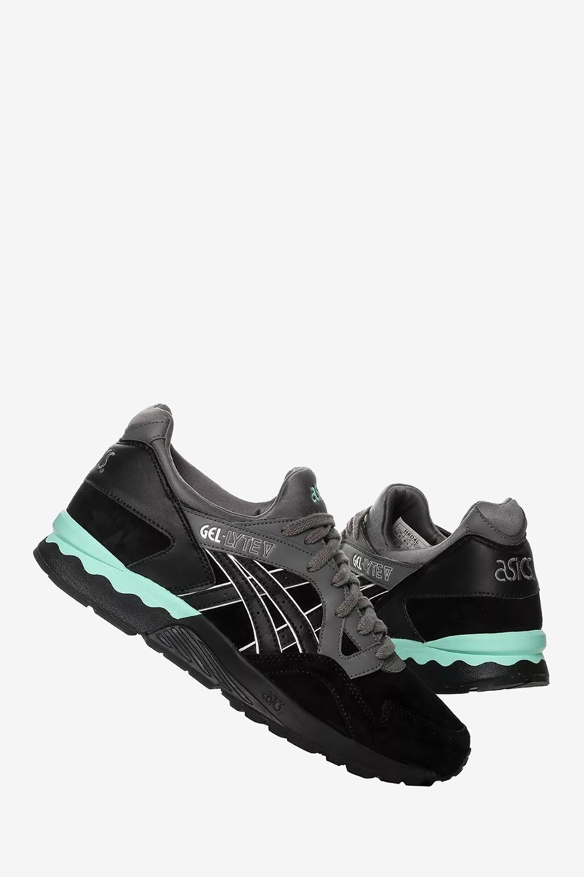 Men's Gel-Lyte V Training Shoes, Black/Turquoise