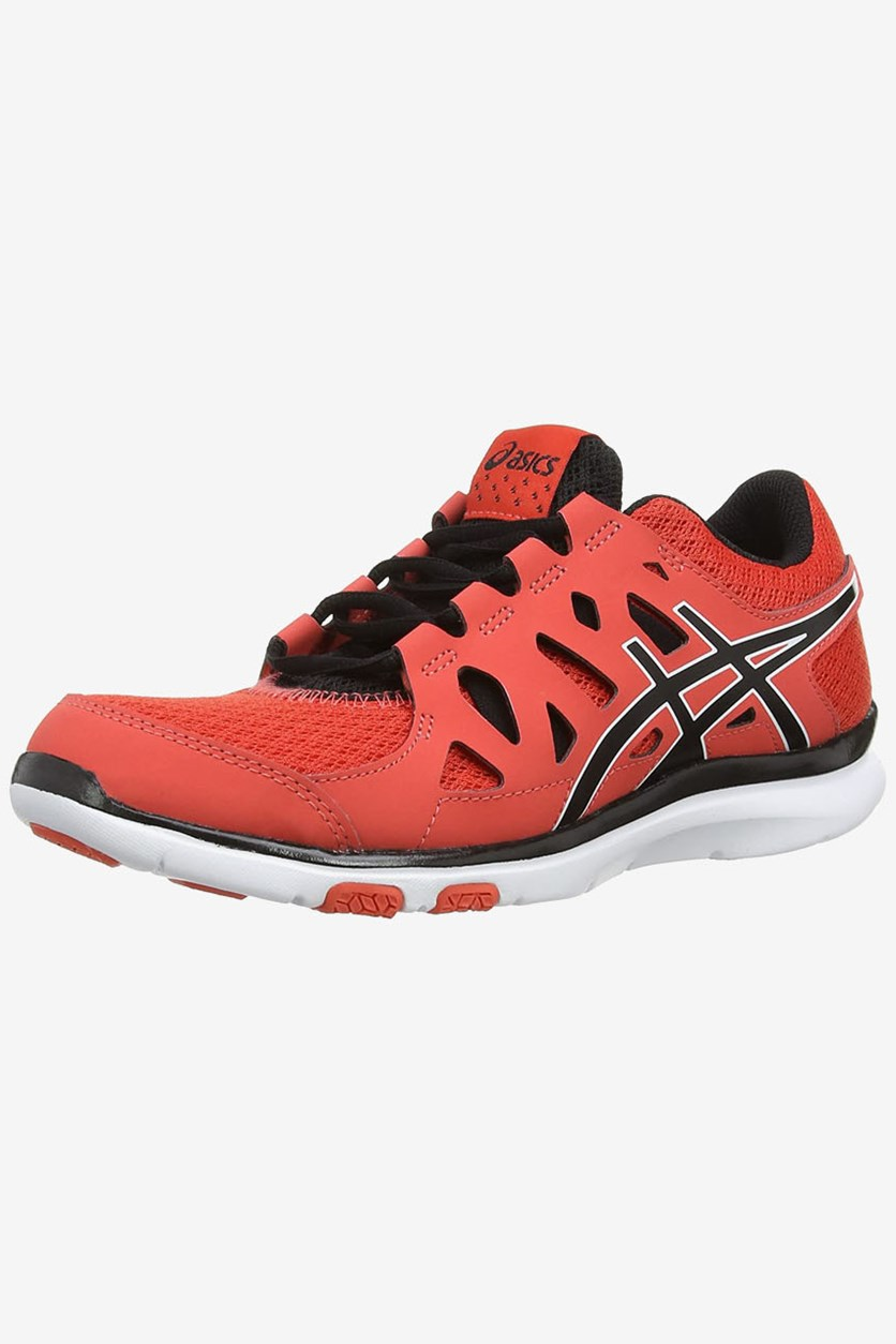 Women's Gel Fit Tempo Shoes, Hot Coral/Black/White