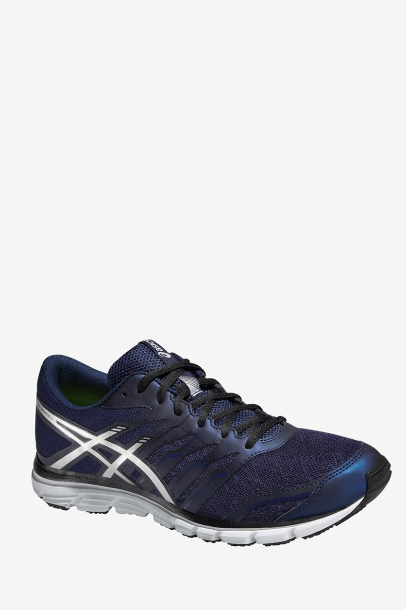 Men's Gel-Zaraca 4 Running Shoes, Indigo Blue/Silver/Black