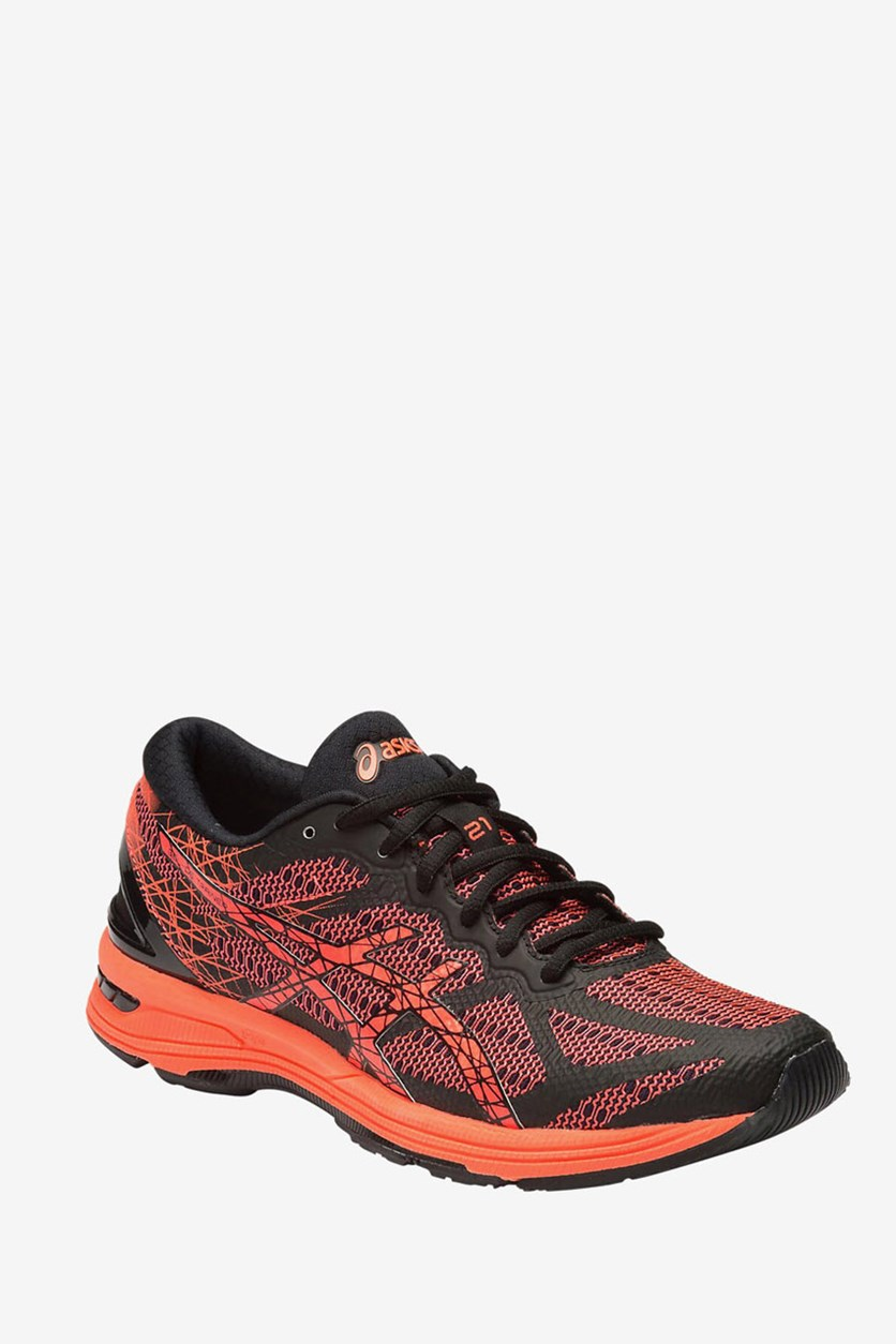 Women's Gel-Ds Trainer 21 Running Shoes, Black/Flash Coral/Silver