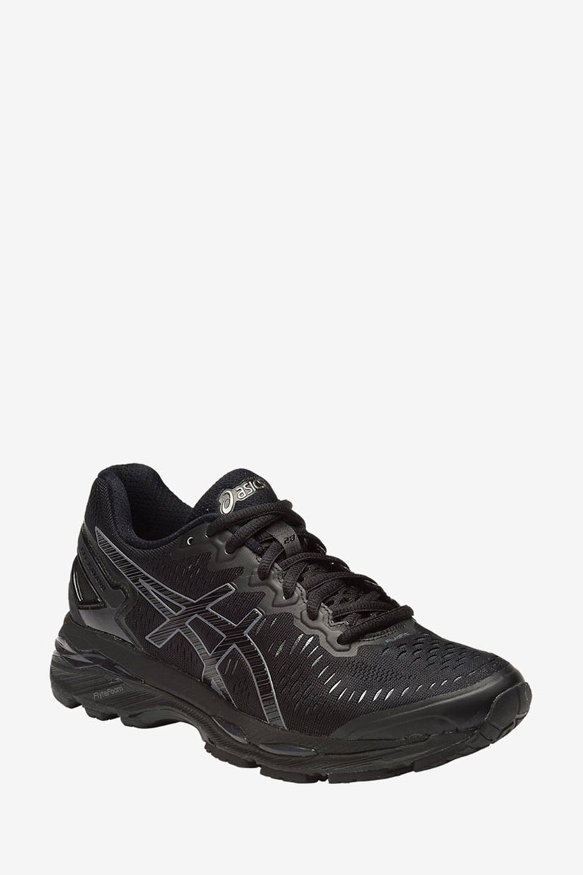 Women's Gel Kayano 23 Premium Running Shoes, Black/Onyx/Carbon
