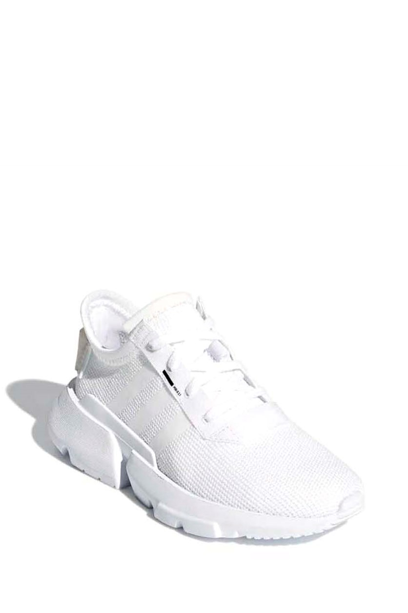 Girl's Lace Up Shoes, White