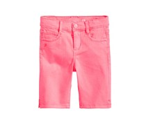 Kids Girl's Twill Bermuda Shorts, Pink