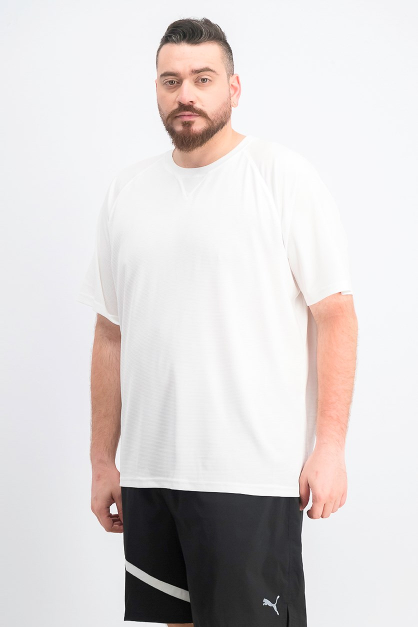 Men's Athletic Sports T-Shirt, White