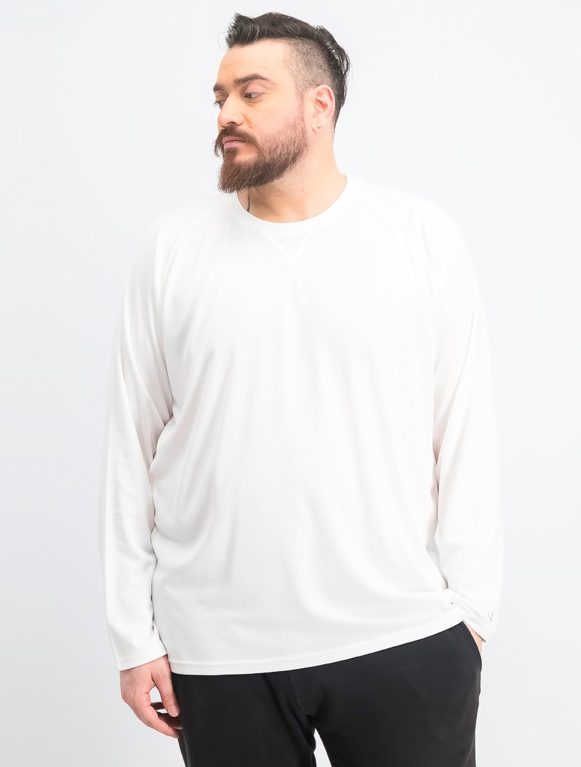 Men's Long Sleeve Shirt, White