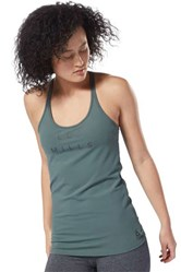 Women's Long Tank Top, Green