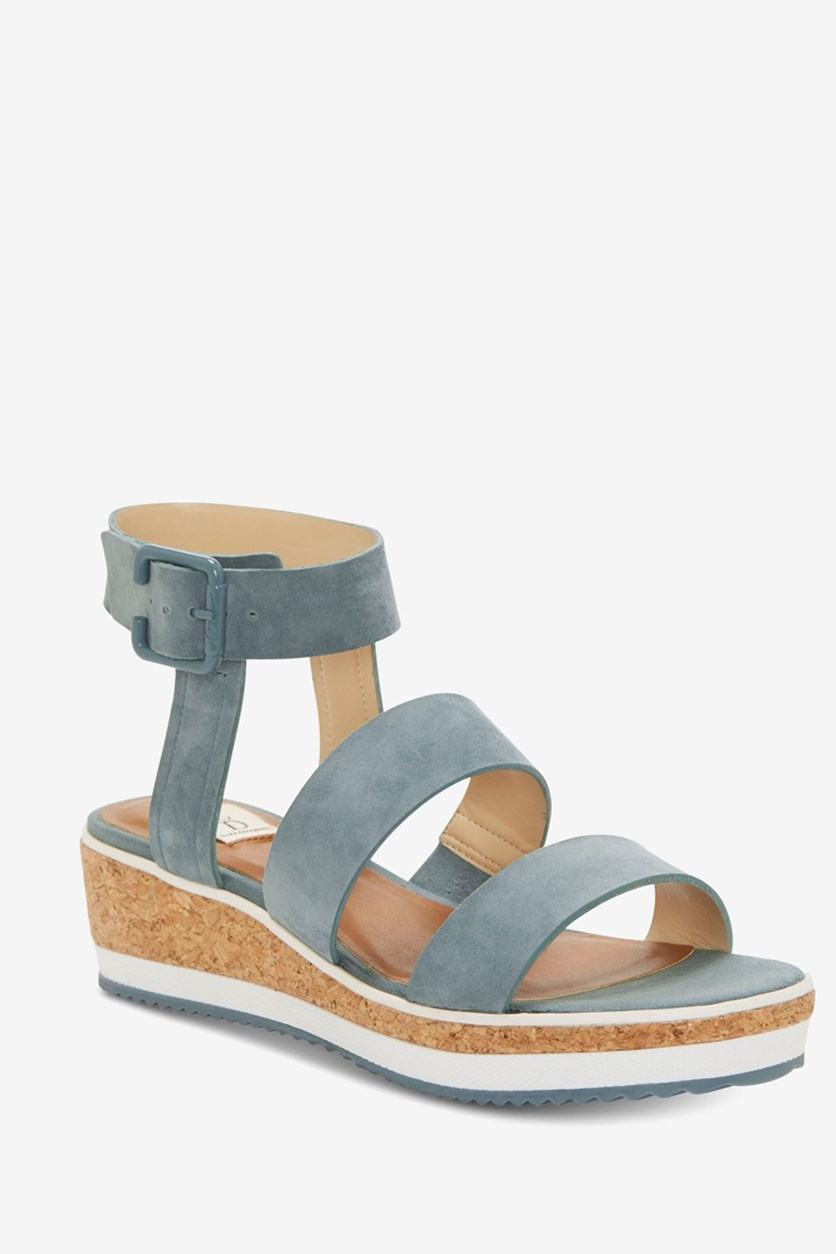 Women's Stassi Wedge Sandal, Seafoam