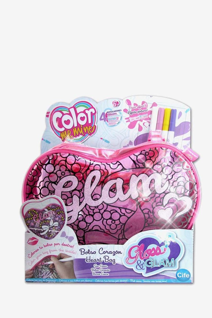 Color Me Mine Gloss & Glam, Pink Combo
