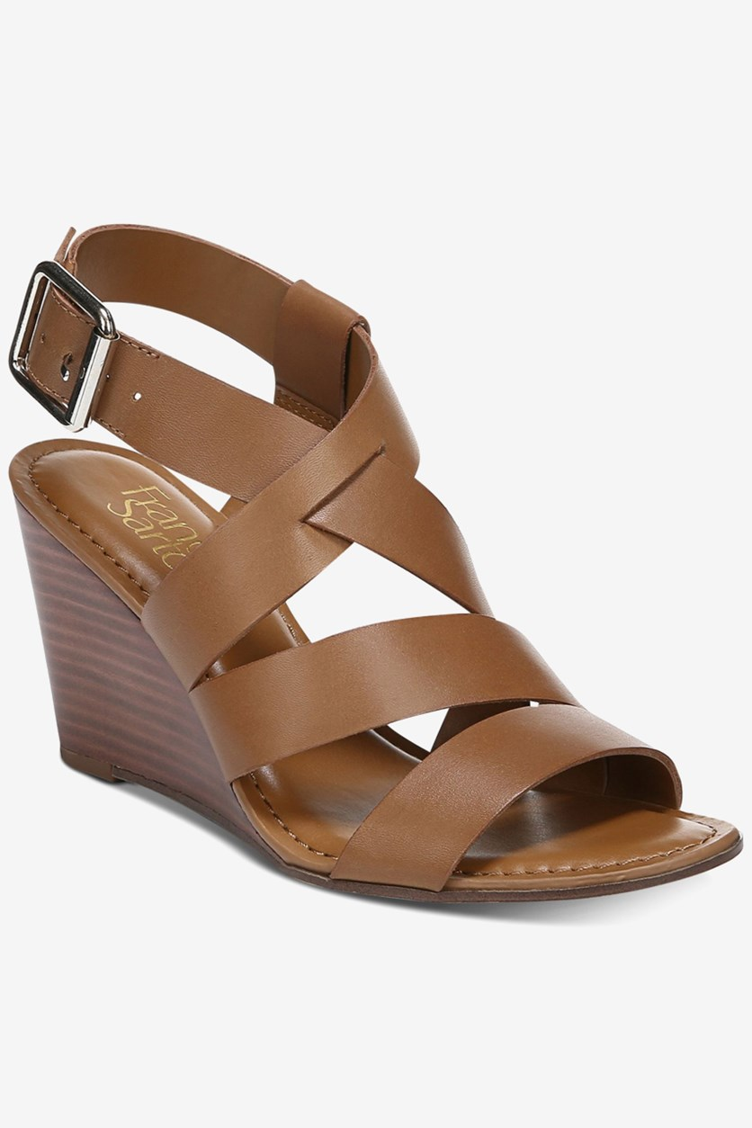 Women's Yara Wedge Sandals, Brown