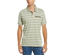 Men's Ike By Striped Polo Shirt, Olive