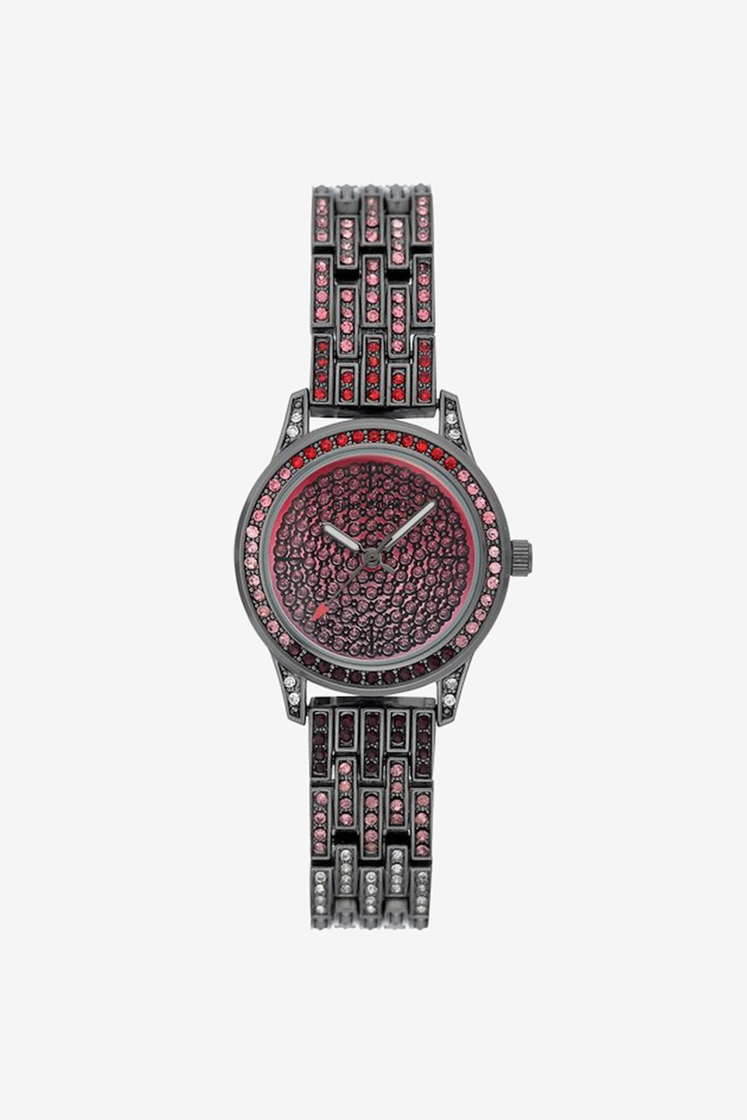 Women's Analog Watches, Black/Red