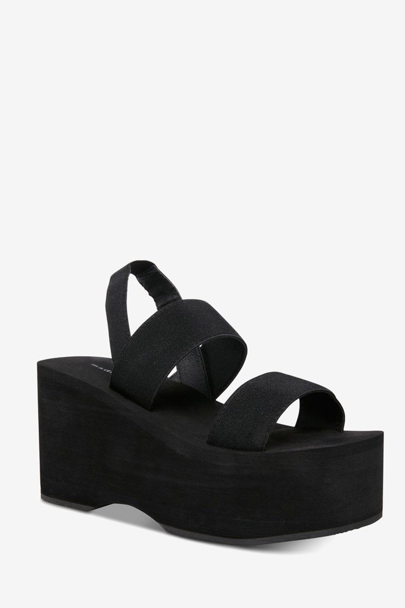 Women's Keely Wedge Sandals, Black