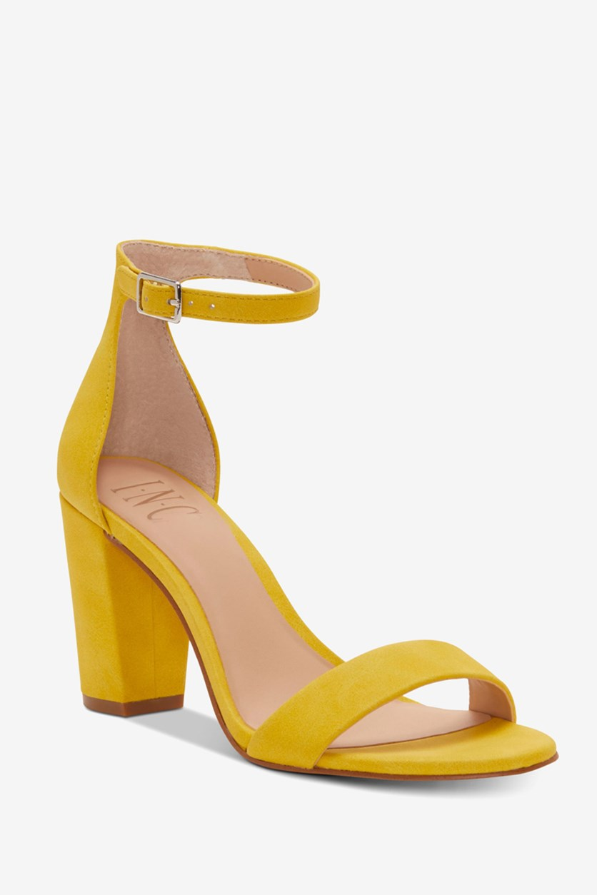 Women's Kivah Two-Piece Sandals, Lemon