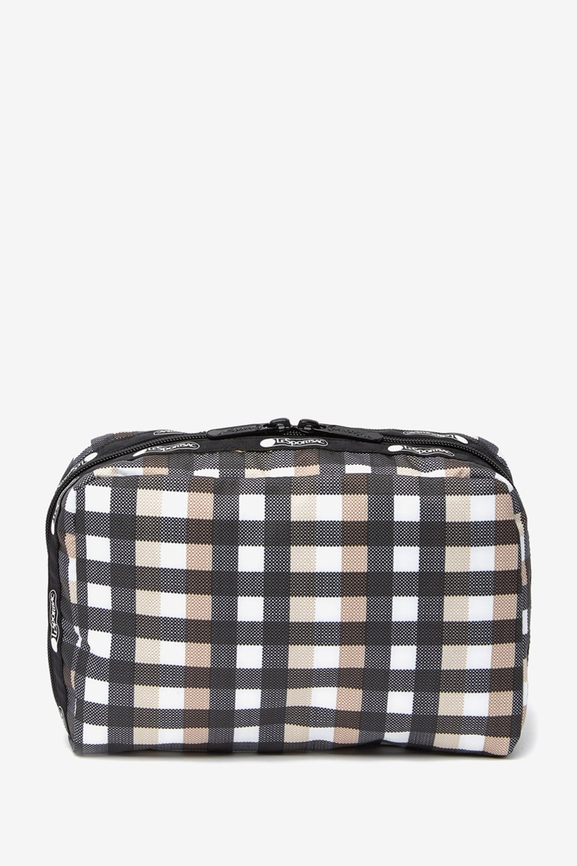Candace Large Top Zip Cosmetic Case, Picnic