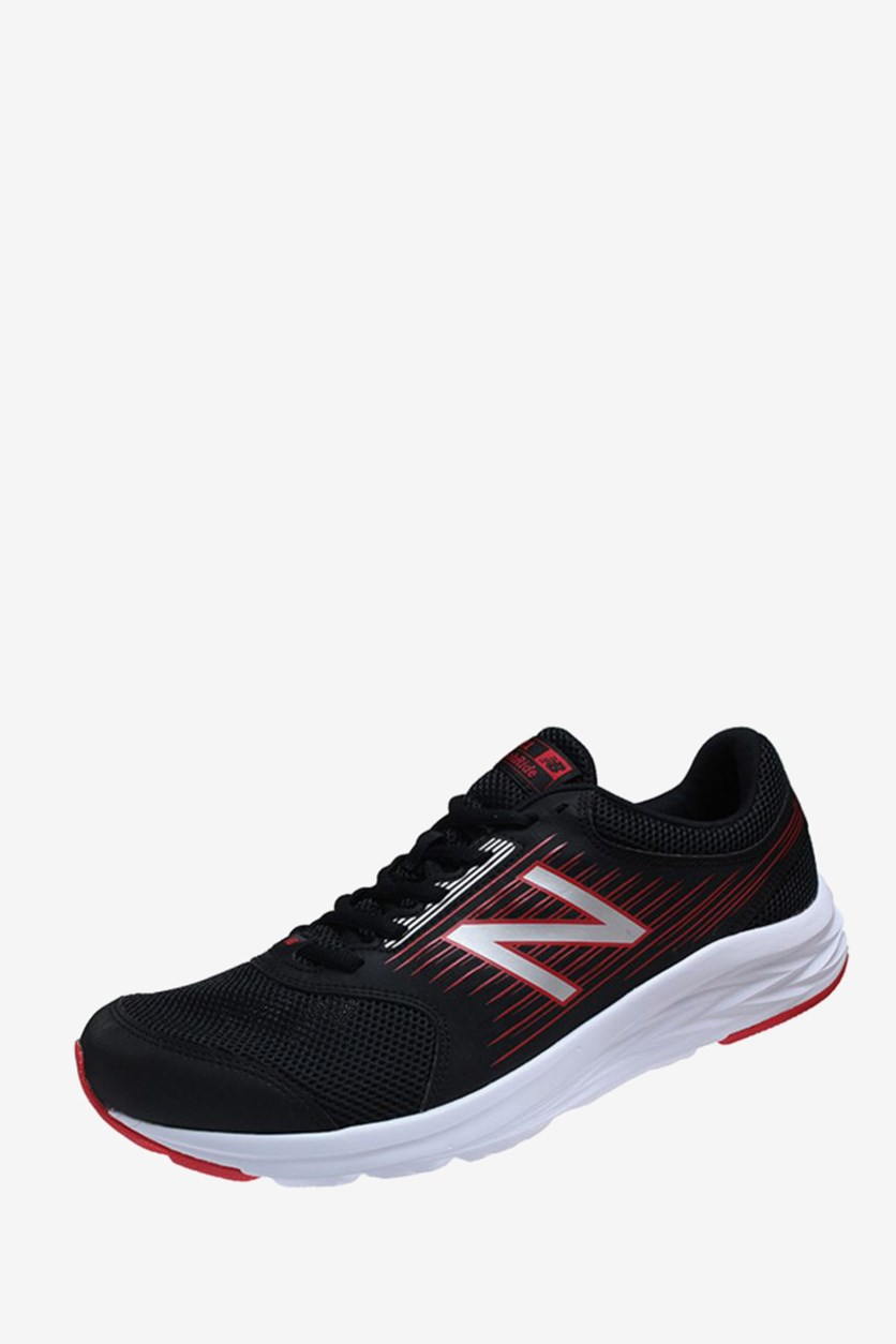 Men's Running Shoes, Black/Red