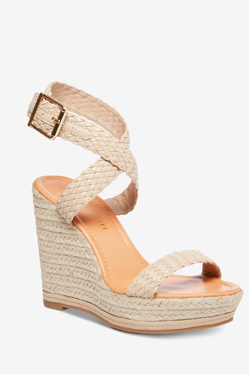 Women's Narla Espadrille Wedge Sandal, Cream