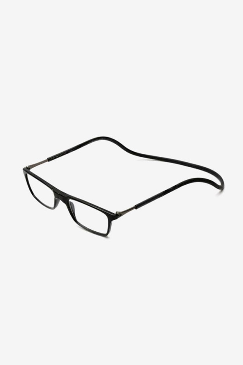 +2.00 D Unisex Reading Glasses, Black