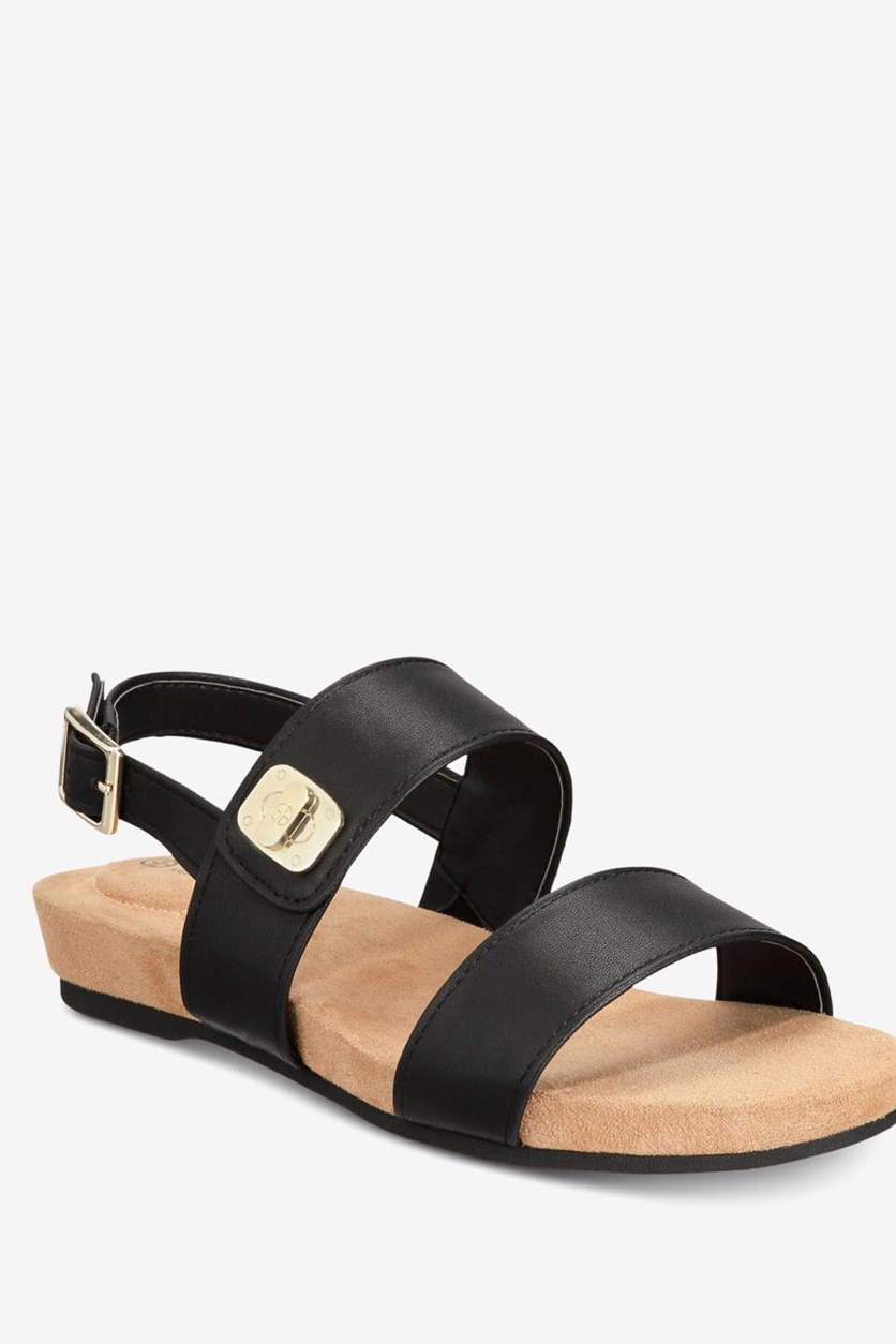 Women's Ramonaa Wedge Sandals, Black/Taupe