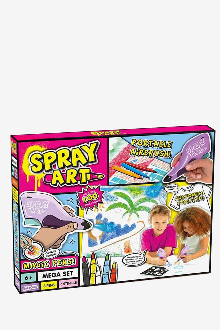 Spray Art Mega Set, Pink Combo
