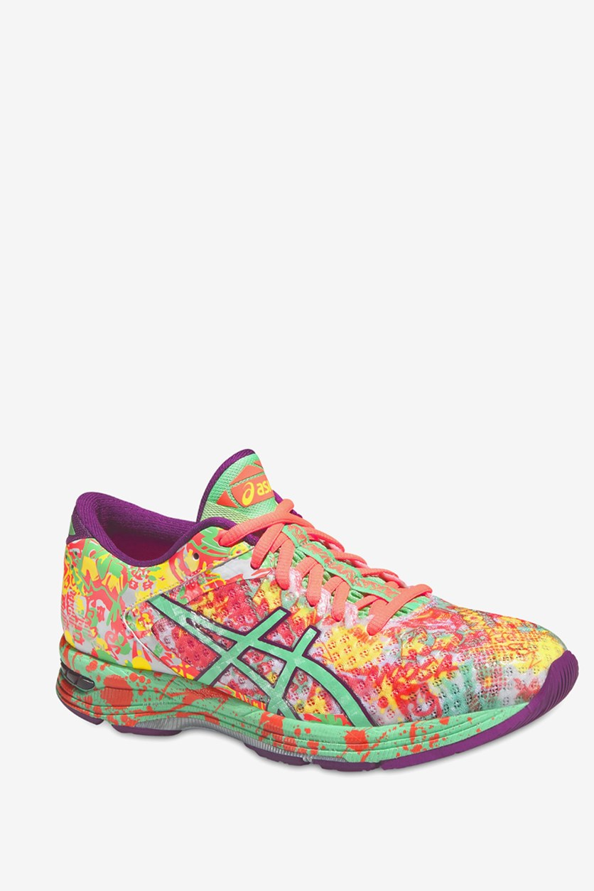 Women's Gel Noosa Tri 11 Shoes, Flash Coral/Spring Bud