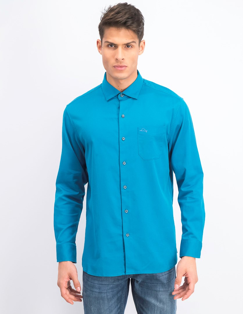 Mens Oasis Silk Shirt, Shipwreck