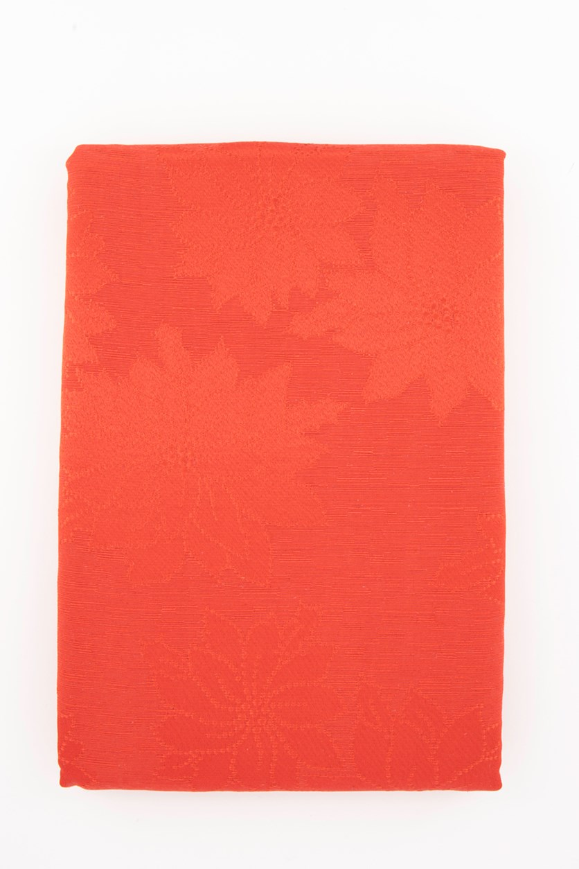 Winter Joy Red 152 x 305 cm Tablecloth, Red