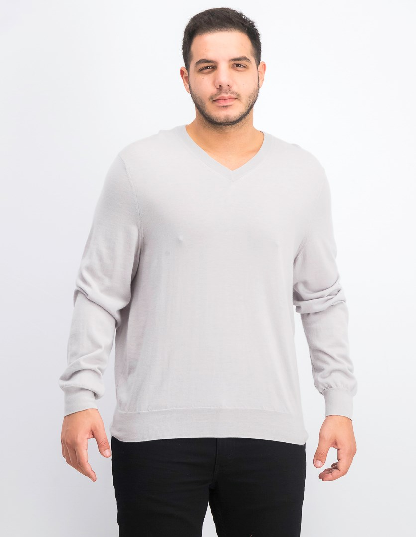 Men's Store at Bloomingdale's Cashmere V-Neck Sweater, Sand