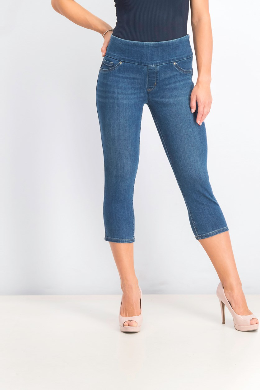 Women's Pull-on Capri Jeans, Expedition