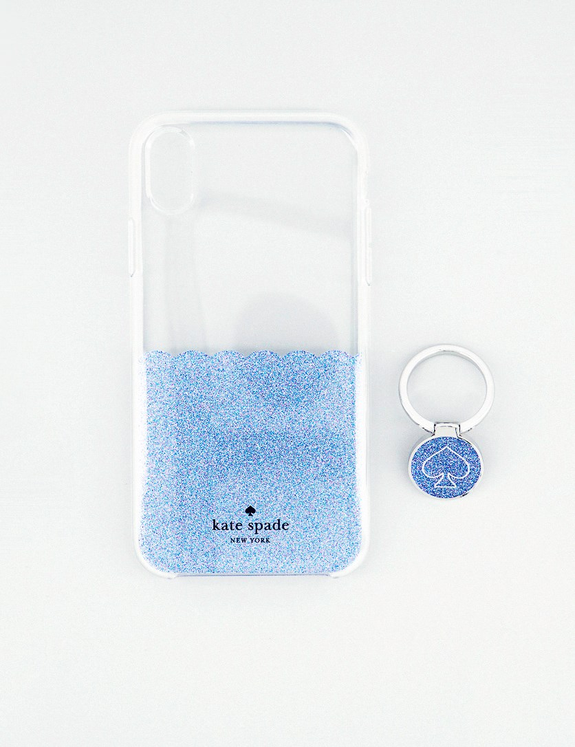 iPhone XR Gift Set Scallop Spade Mermaid, Clear