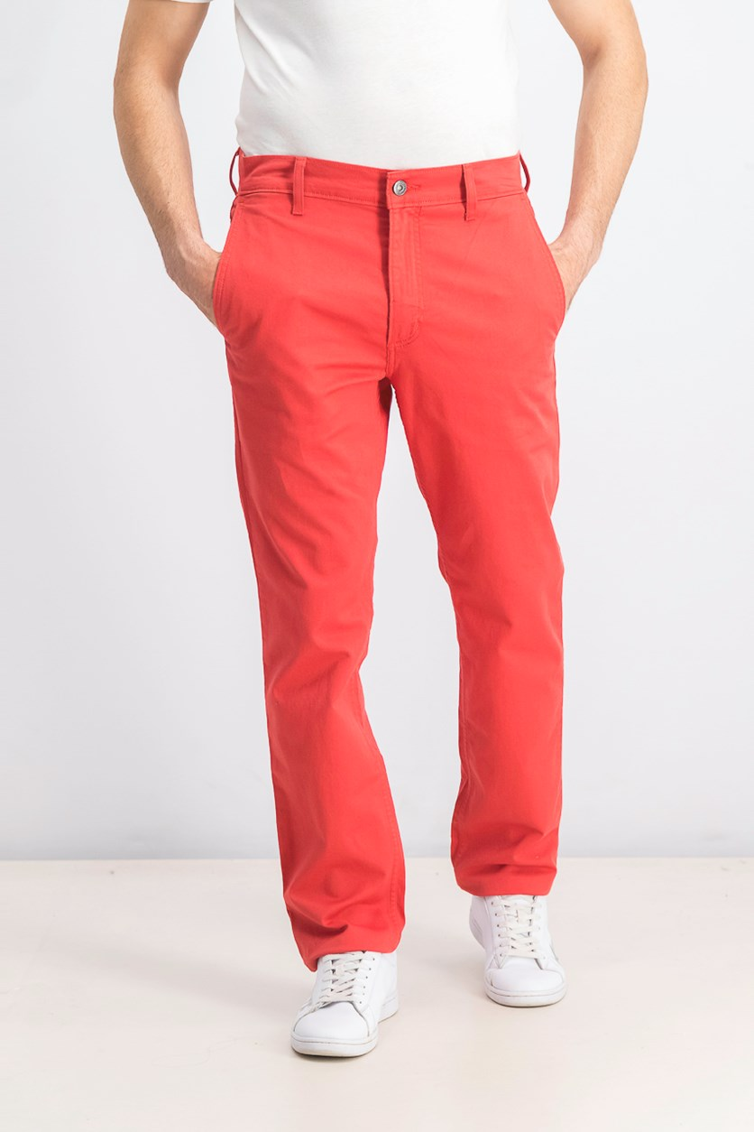 Men's  511 Slim Fit Hybrid Trousers, Sunset Red