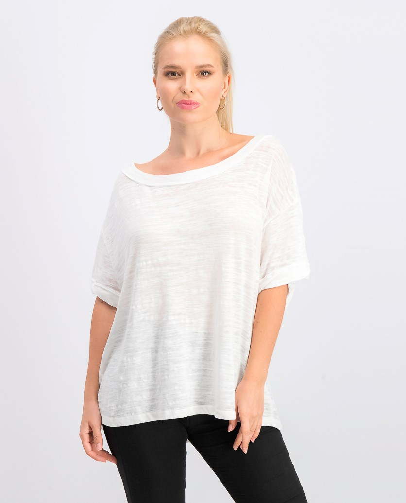 Women's Viola Oversized T-Shirt, Optic White