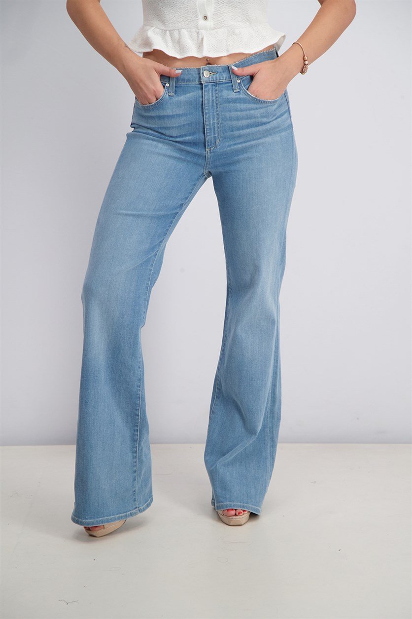Women's Molly High-Rise Flare Jeans, Blue Wash