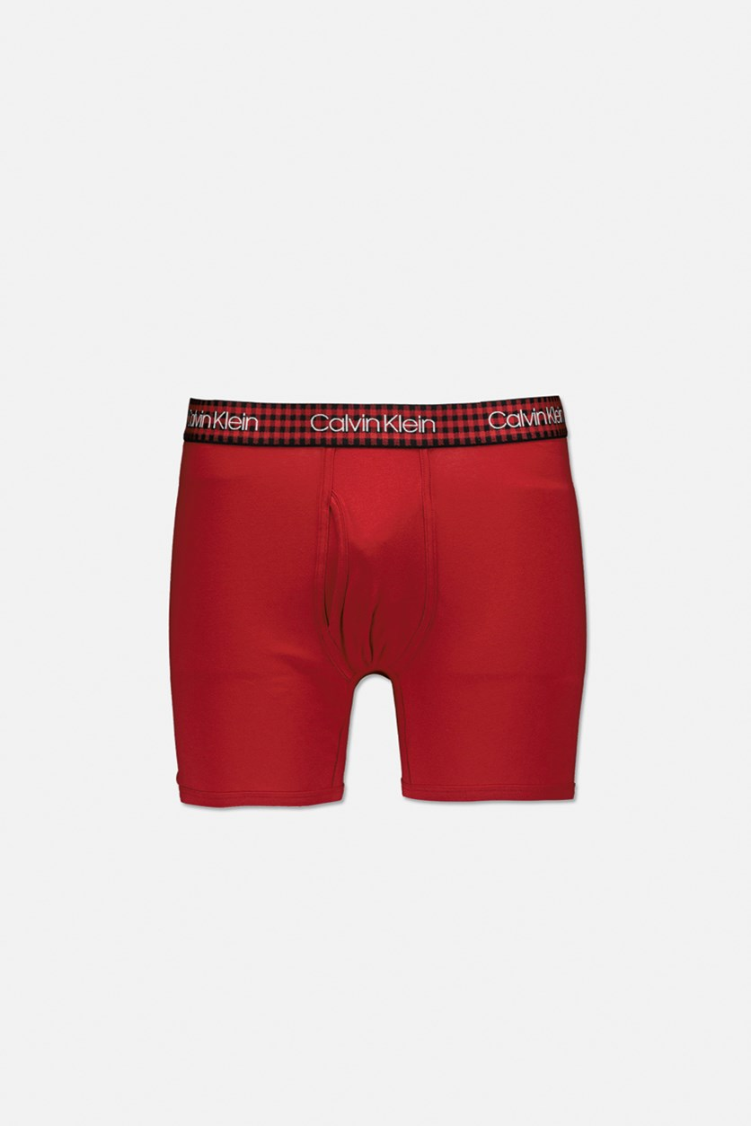 Men's Low Rise Boxer, Red