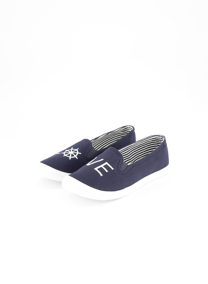 Women's Jess Love Casual Shoes, Navy/White