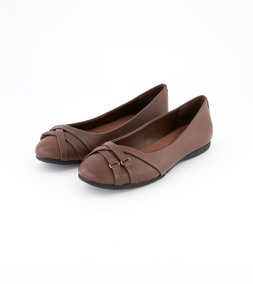 Women's Bass Madison Flats, Brown