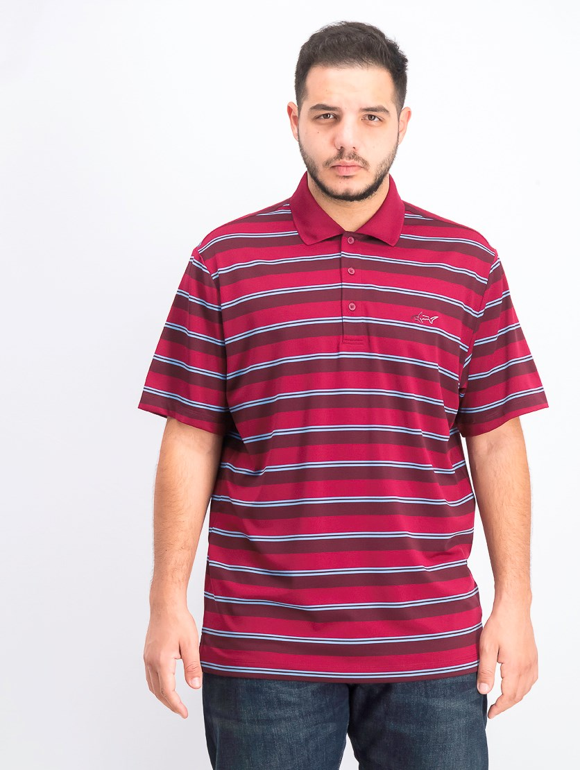 Men's Dayton Comfort Stripe Polo, Cosmic