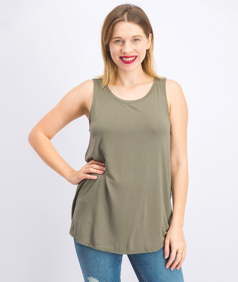 Women's Swing-Fit Tank Top, Olive Spring