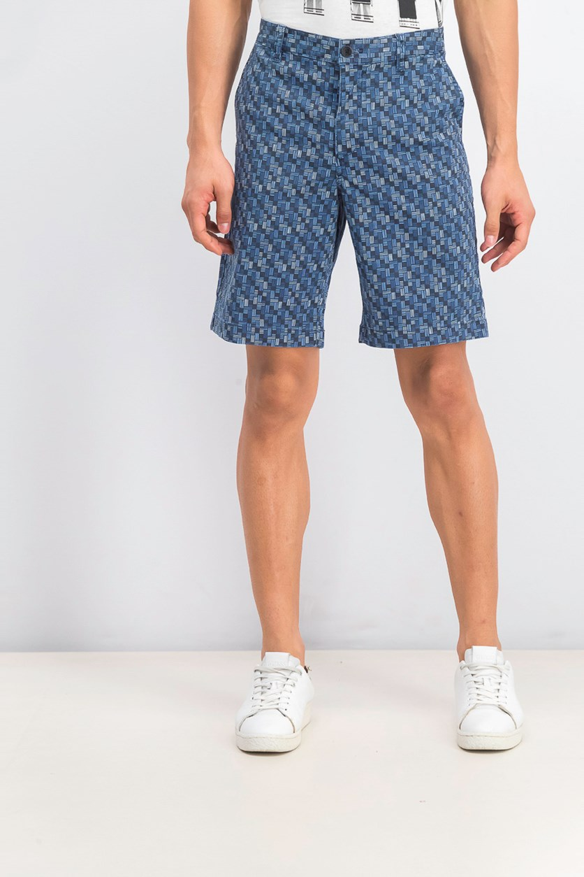 Men's Oh My Geo Shorts, Blue Note