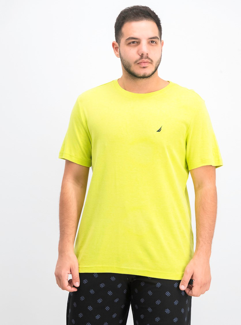 Men's Pajama T-Shirt, Tropic Lime