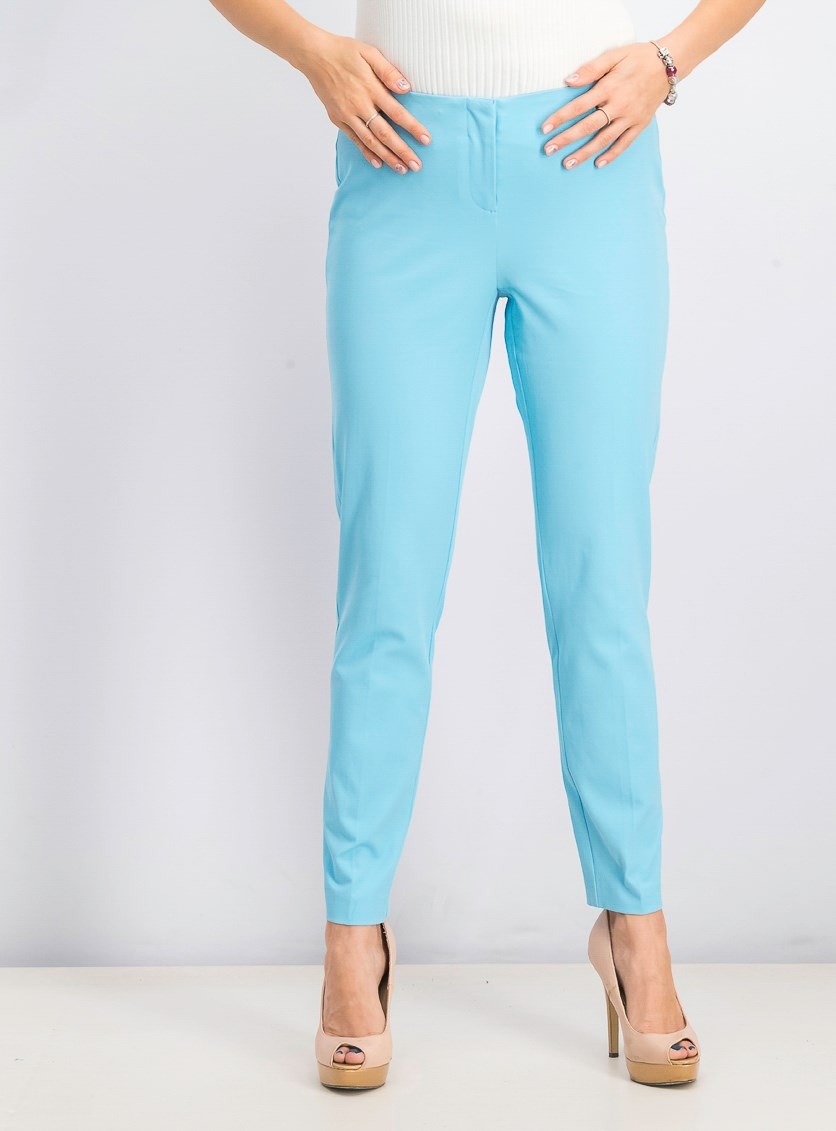 Women's Bi-Stretch Hollywood Skinny Pants, Blue Crystal