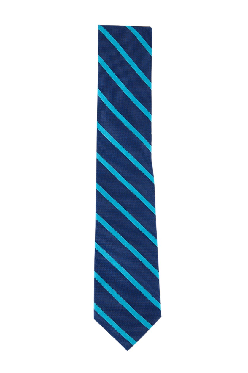 Men's Stripe Tie, Navy Combo