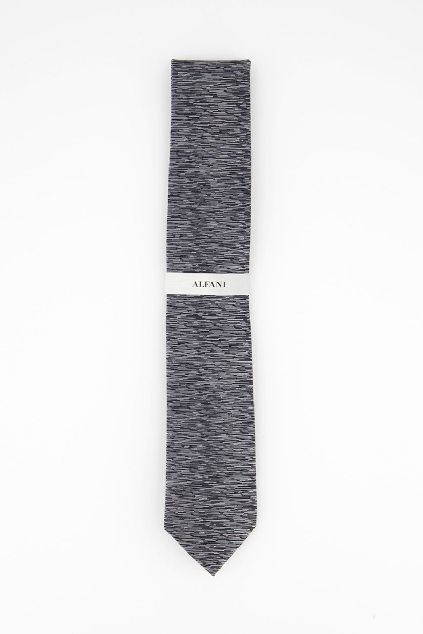 Mens Season Solid Tie, Gray Combo