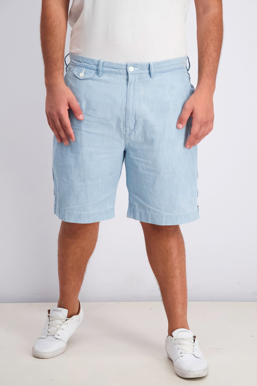 Men's Classic Fit Shorts, Chambray