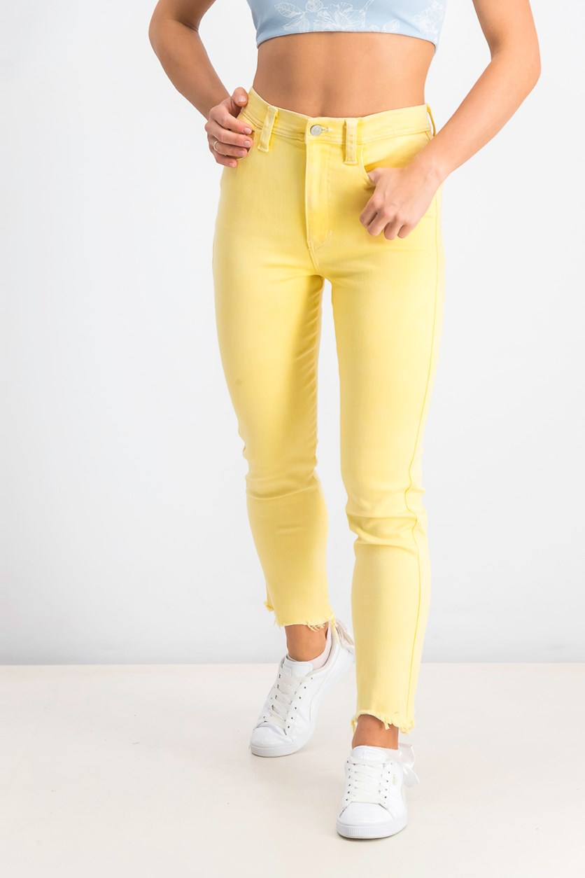 Womens  Cropped Molly Skinny Jeans, Molly Lemonade