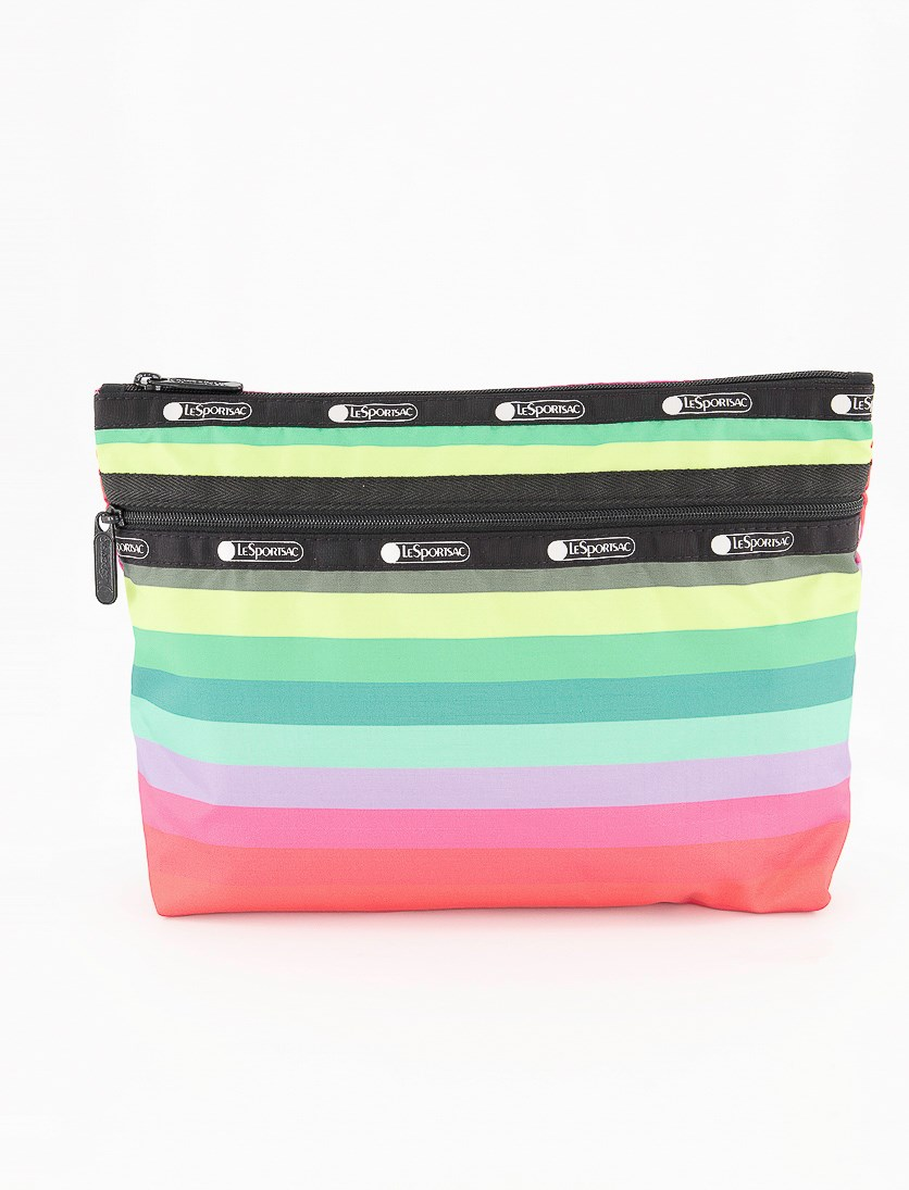 Taylor Large Cosmetic Case, Stripe