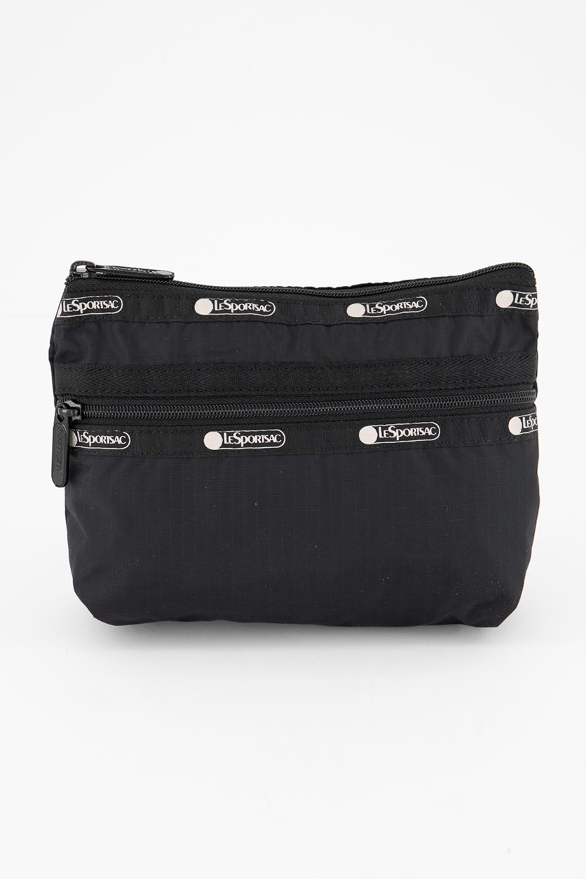 Womens Taylor Small Cosmetic Case, Black