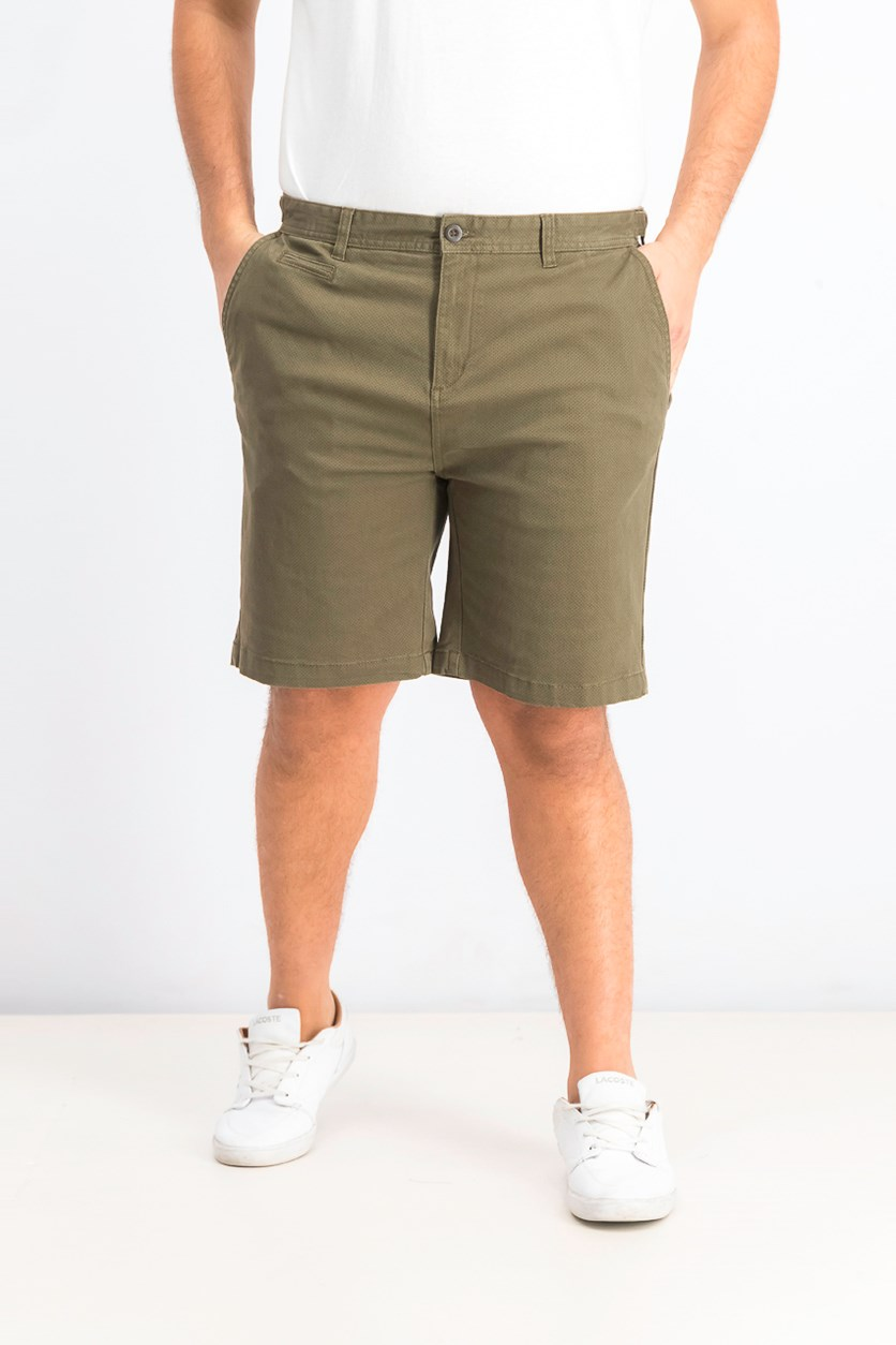 Men's Textured Chino Short, Olive