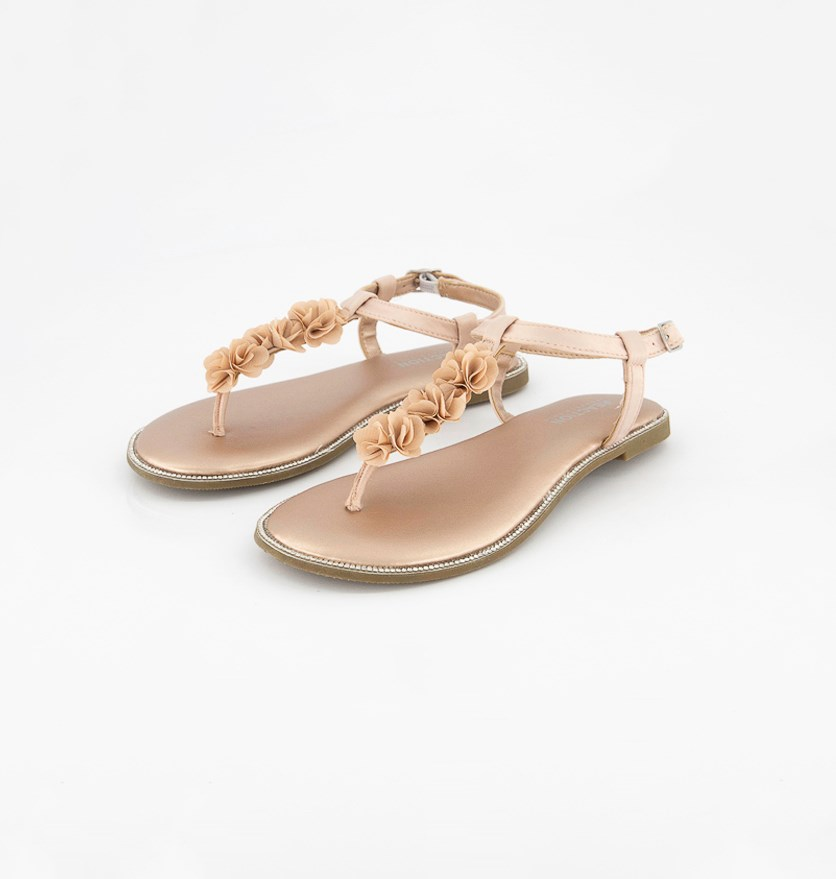 Kids Girl's Brie Fiore Sandals, Rose